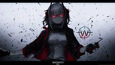 W by AchzatrafScarlet on DeviantArt Gfx Design, Girls Frontline, Character Names, Photoshop Tutorial, Hatsune Miku, Favorite Tv Shows, Digital Art, Darth Vader, Student
