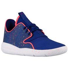 2a8704e4f95 Jordan Eclipse - Girls  Grade School Blue And Orange Jordans