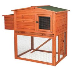 TRIXIE Natura Chicken Hutch With Outdoor Run