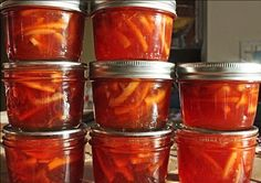 Quince-Orange-Cardamom Marmalade from Hitchhiking to Heaven - This won a blue ribbon at the fair