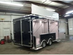 Mobile Marketing Solution And Product Display. Mobile Marketing & Product Display Solution Built To Display Our Customer'S Products and Allow The Public To See and Touch The Displayed Products. Call for more information on this trailer. Ref # E196872 | Advantage Trailers and Hitches