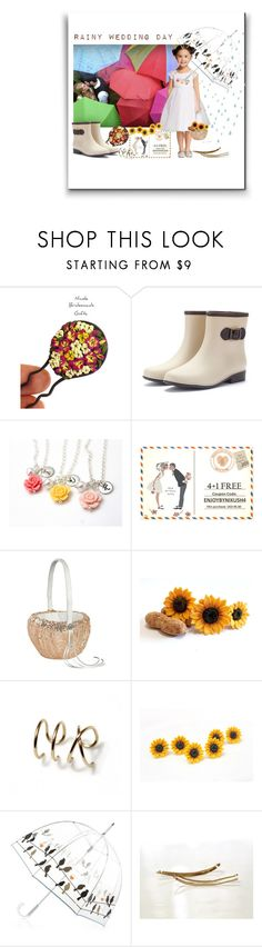 """Rainy Wedding Day"" by treasury ❤ liked on Polyvore featuring Ivy Lane Design"