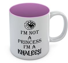Game Of Thrones Gifts, Game Of Thrones Fans, Birthday Presents For Mom, Wife And Girlfriend, Khaleesi, Tea Cups, Coffee Mugs, Ceramics, Princess
