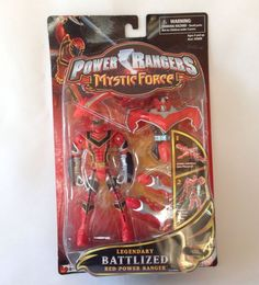 Power Rangers Mystic Force Battlized Red Ranger To Legendary Phoenix Titan NEW   #Bandai