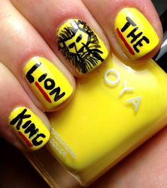 Nails by an OPI Addict: The Lion King Nails!