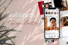 10 Instagram Post Templates – Free Design Resources Instagram Design, Free Instagram, Instagram Posts, Fashion Templates, Instagram Post Template, Scene Creator, Social Media Template, Psd Templates, Journal Cards