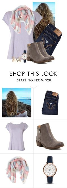 """Merry Christmas!!!❤"" by madison-ashley-0203 ❤ liked on Polyvore featuring Hollister Co., Acne Studios, Lucky Brand, BP., FOSSIL and Stella & Dot"