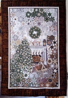 Panel Quilts, Quilt Blocks, One Block Wonder, Kaleidoscope Quilt, Memory Quilts, Christmas Quilting, Print Fabrics, Winter Quilts, Quilt Art