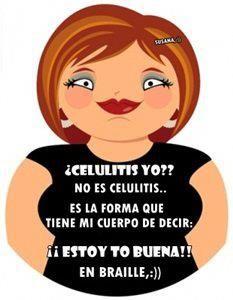 ¿ Celulitis yo?