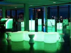 Light-emitting diodes (LED) are not just for holiday decorations anymore. Perfect for all events, parties and celebrations!    http://www.flashingblinkylights.com/16bigledcubelightfurnitureendtablestool-p-2632.html