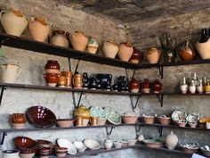 Beautiful ceramics from Montottone, Le Marche