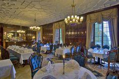 Ruokasali - Dining Room #vanajanlinna #restaurant #dinner #hotel
