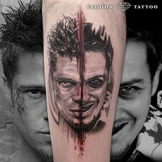 This is one movie which mess with your mind... Cool piece by Fashion Tattoo.