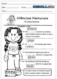 Atividades de Ciências 1° ano com exercícios sobre corpo humano, animais e outros assuntos que valorizam os conhecimentos do aluno com oportunidades de novas experiências.