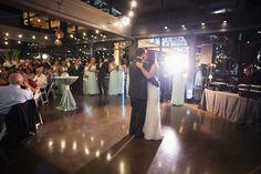 Photographer: Mclellan Style -  Event Planner: Stunning Events - Florist: Fresh by Carry Ann -  Modern rooftop wedding Nashville at The Bridge Building