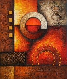 Abstract Oil Paintings 012
