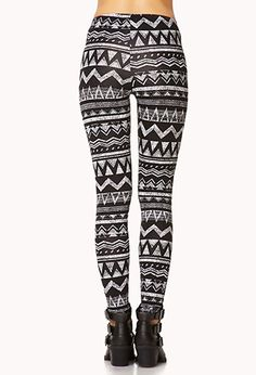 Geo Tribal Leggings | FOREVER 21