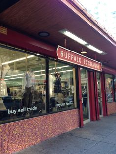 Bring your own bag and shop thrifty at Buffalo Exchange