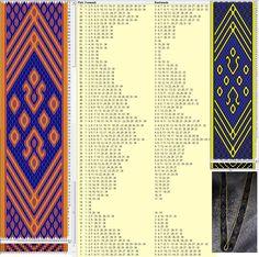 34 tarjetas, 3 colores, completa dibujo en 72 movimientos // sed_990 diseñado en GTT༺❁