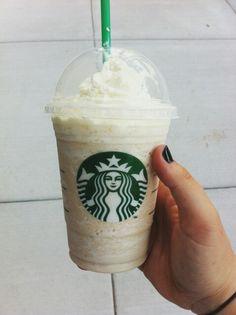 Starbucks vanila bean frap