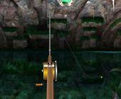 Pêche Lac dans une Grotte