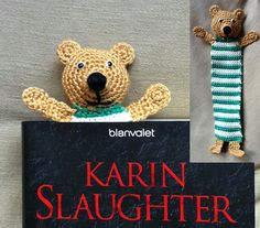 crochet teddy bookmark | the crochet space