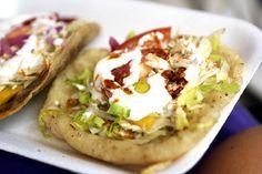 mexican food - salbute yucateco