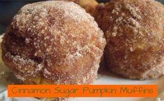 Recipe: Cinnamon Sugar Pumpkin Muffins. Yum!