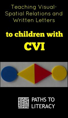 Teaching visual-spatial relations with written letters to children with CVI