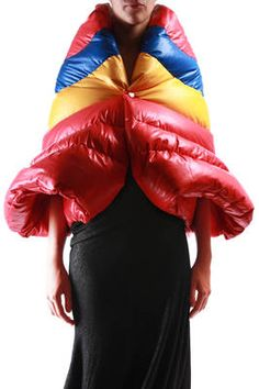 down padded cape - JUNYA WATANABE