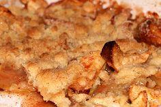 Skarntyden og lupinen: Æblekage med smuldredej