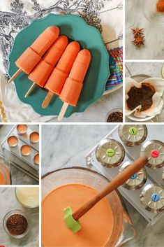 Thai Iced Tea Popsicles. Creamy black tea ice pops with a hint of vanilla and spice. From Blossom to Stem   Because Delicious http://www.blossomtostem.net Gluten free, vegetarian