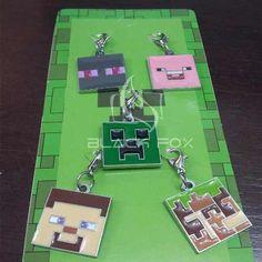 Kit Chaveiro Minecraft Com 5 Modelos - Preço Para As 5 Unid. - R$ 28,00