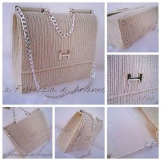 Discover thousands of images about Cristina Provensal Diy Crochet Bag, Diy Crochet Projects, Crochet Case, Plastic Canvas Coasters, Plastic Canvas Patterns, Crochet Handbags, Crochet Purses, Tote Bags For College, Hand Embroidery Videos