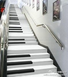 Piano stairs https://play.google.com/store/music/artist?id=Aoxq3iz645k55co23w4khahhmxy&feature=search_result