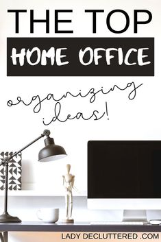 Everyone's home office is different and used differently, but we have one thing in common, we want that home office organized! Office Organization At Work, Home Office Storage, Home Office Organization, Organization Hacks, Office Ideas, Home Design, Home Office Design, Home Office Decor, Design Design
