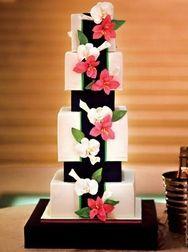 Japanese Style Wedding Cake
