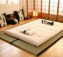Lit Futon Pour Une Chambre A Coucher De Style Japonais Lit