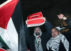 "Palestinian Supporters Hold ""DC March for Gaza"" 