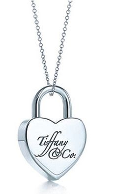 tiffany jewels | Tiffany Jewelry Necklaces Transparent Lock Silver