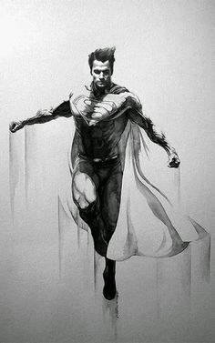 Saved by Dave McCall Discover more of the best Illustration, Painting, Superman, Eric, and Meador inspiration on Designspiration Comic Book Characters, Comic Character, Comic Books Art, Comic Art, Superman Tattoos, Mega Anime, Univers Dc, Arte Dc Comics, Superman Man Of Steel