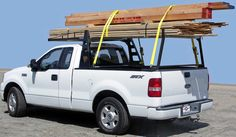 Heavy Duty Truck Racks (www.heavydutytruckracks.com)             Image of Buddy Heavy Duty Forklift Contractor Lumber Rack for Truck