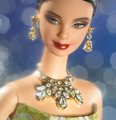exotic+barbie   shop fashions style set collection exotic beauty barbie doll original ... Treasure hunt (different necklace)