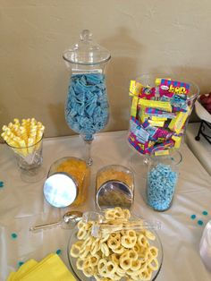 Twinkle Twinkle Little Star Baby Shower Candy Buffet