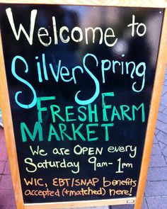 Silver Spring Fresh Farm Market