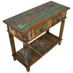 Lindo aparador rústico com tinta!! Acesse nosso site! Iron Furniture, Chalk Paint Furniture, Refurbished Furniture, Home Decor Furniture, Furniture Projects, Rustic Furniture, New Mexico Homes, Antique Cupboard, Furniture Painting Techniques