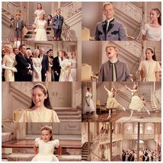 """littlemissdorkette:  The Sound Of Music (1965) (viagabandres -likeadoll) FACT: I used to do that thing Gretel did on the stairs while singing """"the sun has gone to bed and so must I"""" NOT KIDDING.  Favorite part from this movie :)"""
