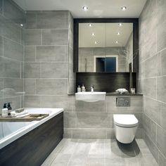 Light Grey Bathroom Floor Tiles Light Grey Bathrooms On inside sizing 800 X 1291 Bathroom Grey Floor Tiles - Good bathroom tile design and style should Bathroom Layout, Modern Bathroom Design, Bathroom Interior Design, Bathroom Ideas, Bathtub Ideas, Bathroom Organization, 1920s Bathroom, Bathroom Niche, Tile Layout