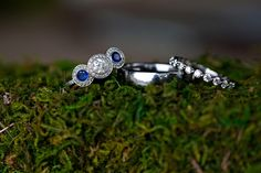 Wedding Rings - PHOTO SOURCE • KATE CRABTREE PHOTOGRAPHY