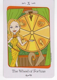 What do your Tarotscopes tell you this week? Check them out here: http://www.tarotbyarwen.com/blog/?p=18506  Thanks for sharing this too. Vanessa Tarot Wheel of Fortune